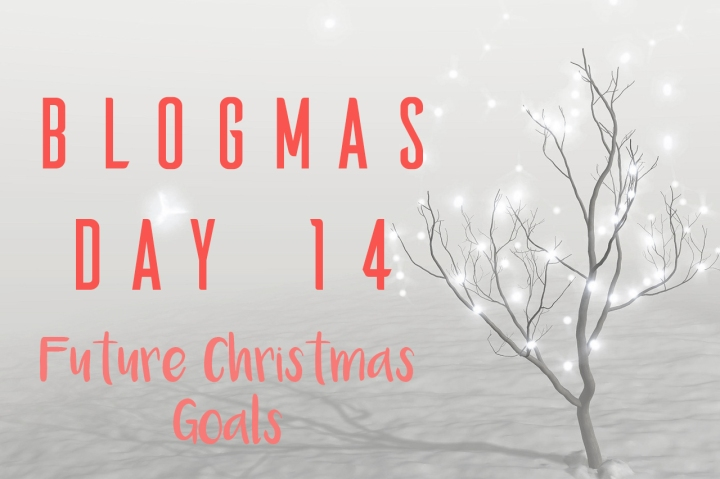 BLOGMAS DAY FOURTEEN | FUTURE CHRISTMAS GOALS