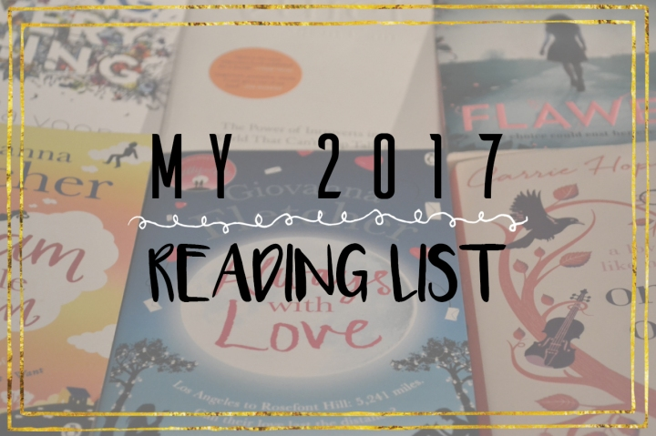 My 2017 Reading List